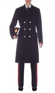 carabinieri cappotto donna