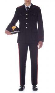 carabinieri uomo frontale