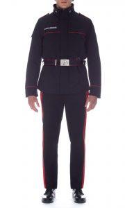carabinieri giubbotto con cintura